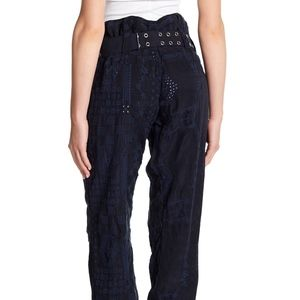 4350cd96d33a Johnny Was Pants - JOHNNY WAS  Causton  Eyelet Belted 33